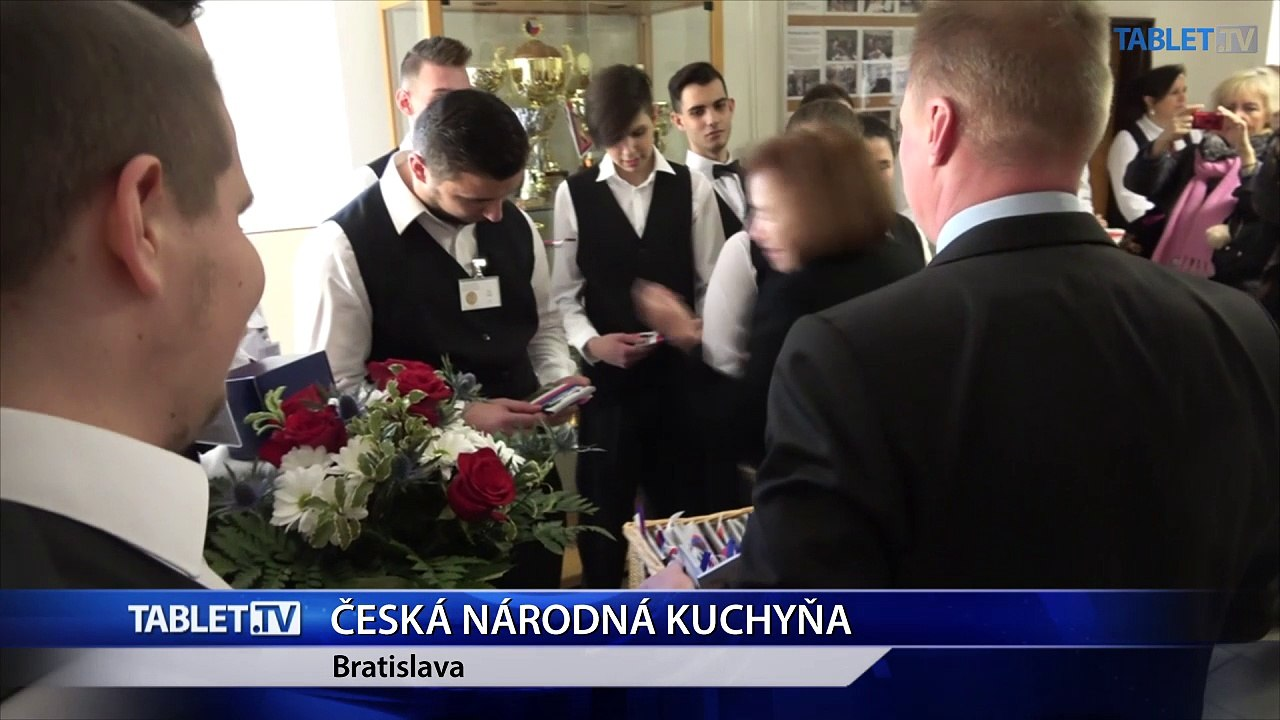 Českú národnú kuchyňu predstavili študenti z Petržalky