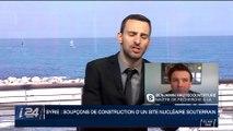 Soupçons de construction d'un site nucléaire souterrain en Syrie: le décryptage de Benjamin Hautecouverture