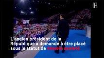 """Mis en examen, Sarkozy dénonce """"mensonges"""" et """"calomnie"""""""