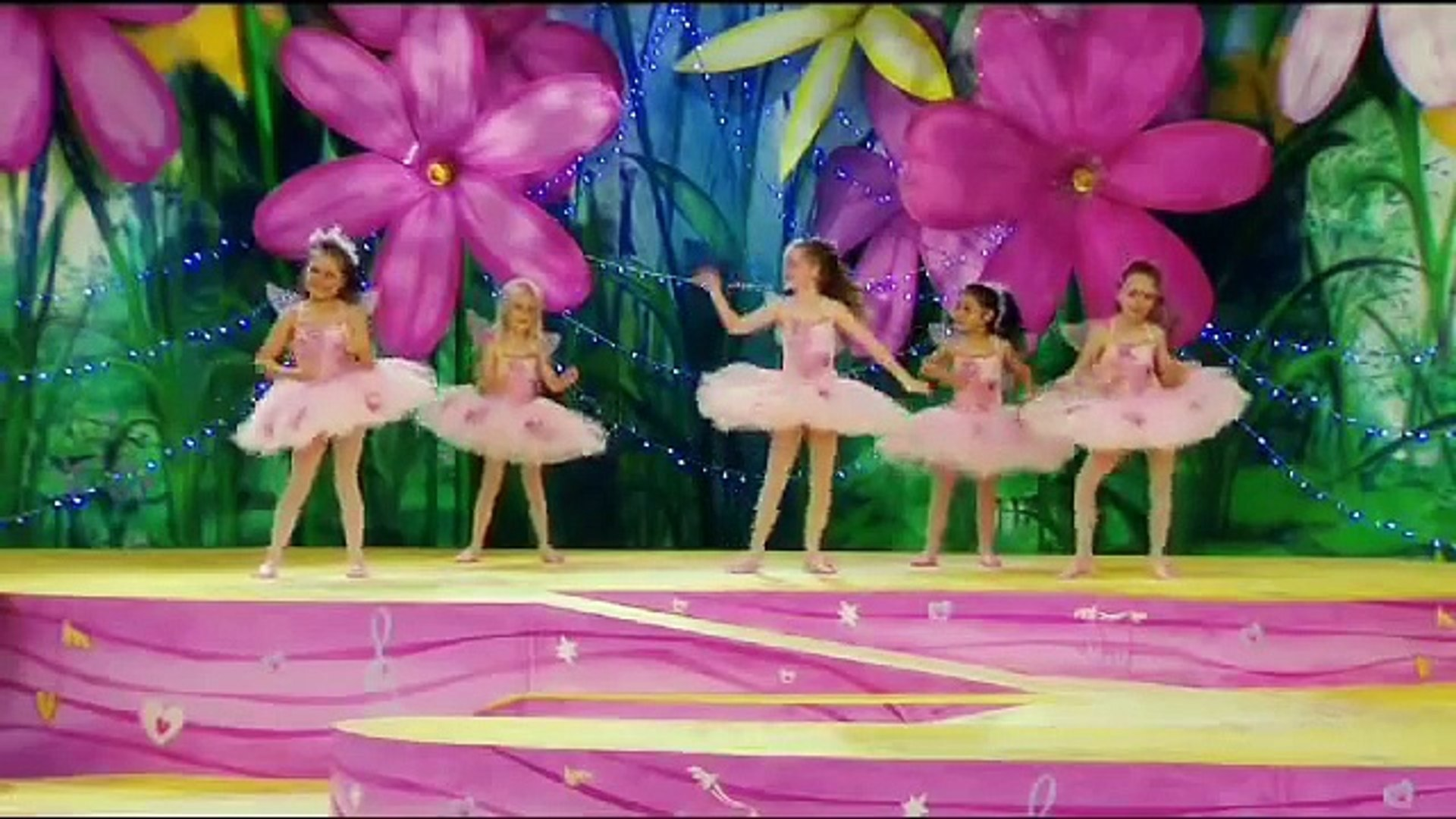 The Fairies  Happy Fairy Birthday with Fairy Dancing Girls