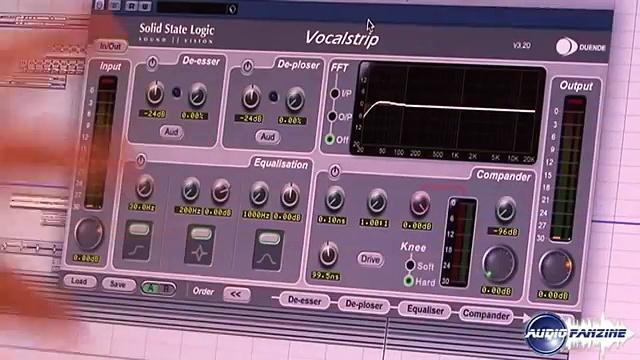 [Musik Messe 2010] SSL Duende Plugin Vocalstrip