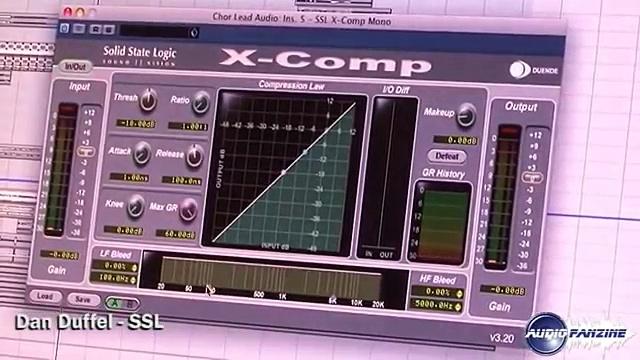 [Musik Messe 2010] SSL Duende Plugin X Comp