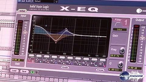 [Musik Messe 2010] SSL Duende Plugin X-Eq