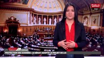 Protection des données : le Sénat adopte le projet de loi - Les matins du Sénat (22/03/2018)