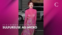 PHOTOS. Bella Thorne laisse entrevoir son soutien-gorge dans une tenue sexy et transparente