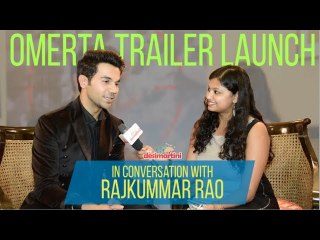 Interview With Rajkummar Rao | Omerta Trailer Launch | HD!
