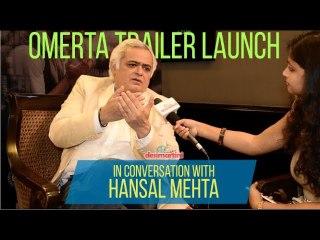 Interview With Hansal Mehta | Omerta Trailer Launch | HD!