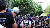 A day at the races, with the world's best bike messengers