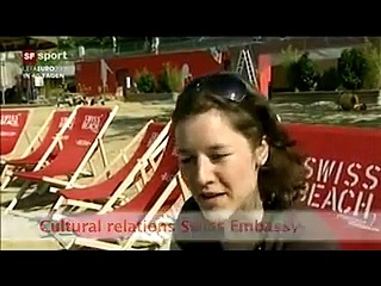 Swiss beach in Austria