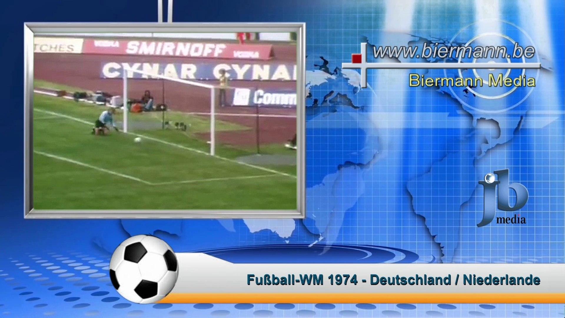 Fussball Wm 1974 West Deutschland Niederlande