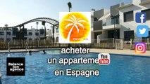 """Appartement à vendre dans la résidence """"Lamar"""" à  Pilar de la Horadada  en Espagne, avec de 2 à 3 chambres, piscine, terrasse, jardin et parking pour vivre ou passer vos vacances dans une belle région au bord de la mer sur la Costa Blanca d'Espagne."""