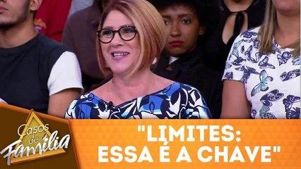 """Dra Anahy adverte """"Limites: essa é a chave"""""""