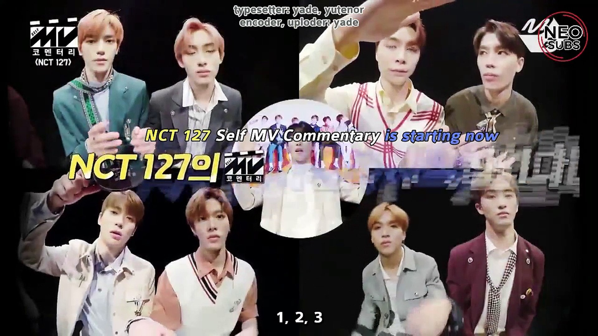 [NEOSUBS] 180323 MV Commentary With NCT 127