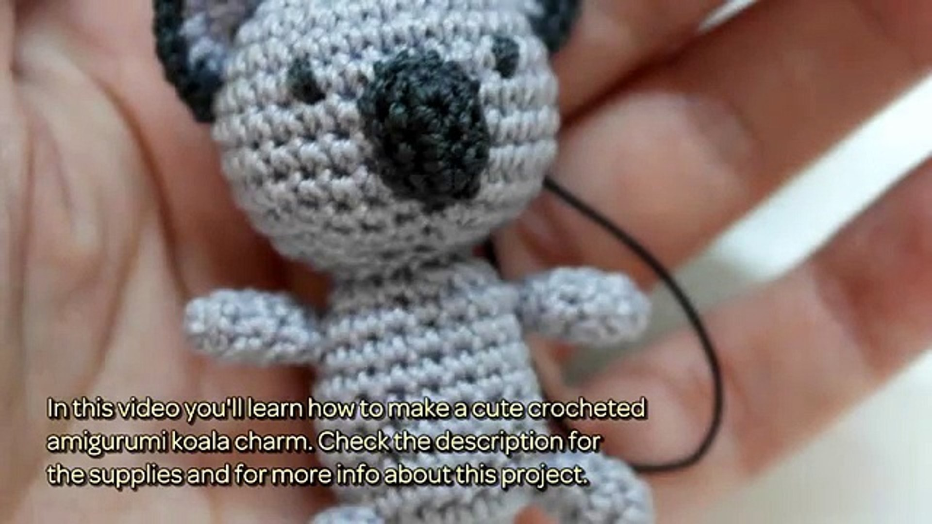 Amigurumi koala with heart - printable PDF – Amigurumi Today Shop | 1080x1920