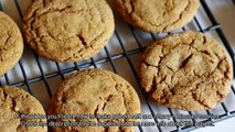 Make Spiced Soft and Chewy Molasses Cookies - DIY Food & Drinks - Guidecentral