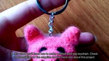 Make a Felted Wool Pig Keychain - DIY Style - Guidecentral
