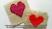 Create a Simple Cross Stitch Heart - DIY Crafts - Guidecentral