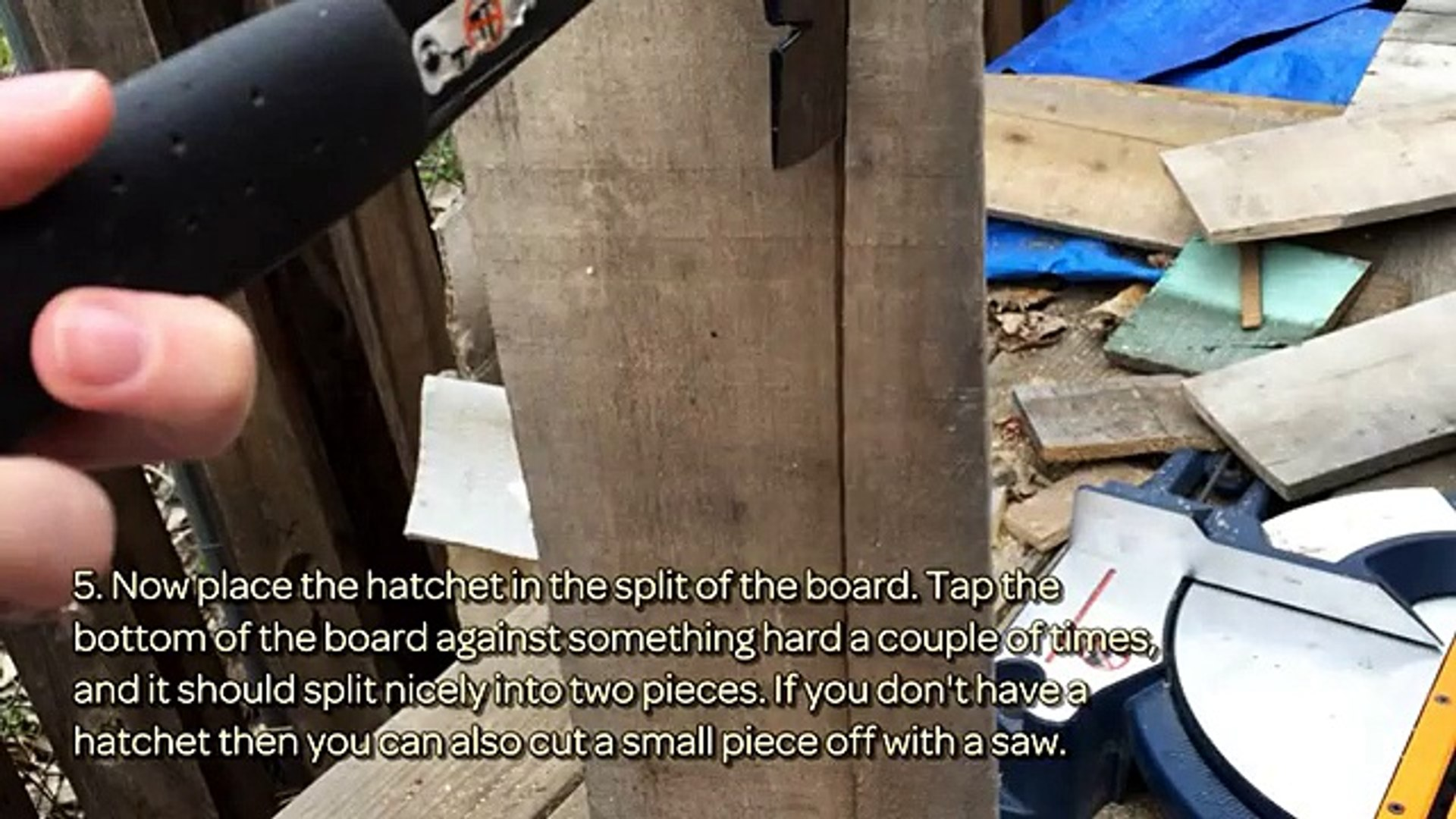 Create a Multi Use Wooden Plank Frame - DIY Crafts - Guidecentral