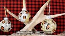 Make Fun Glitter Leopard Ornaments - DIY Home - Guidecentral