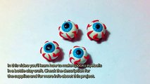 Make Spooky Eyeballs in a Bottle Clay Craft - DIY Crafts - Guidecentral
