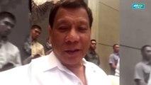 Pres. Rodrigo Duterte's message for Sharon Cuneta.