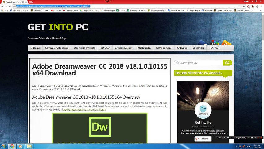 How To Install Adobe Dreamweaver CC 2018 v18 1 0 10155x64 Without Errors