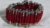 Make a Cool Beaded Safety Pin Bracelet - Style - Guidecentral