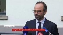 """#Trèbes : """"Toutes les informations dont nous disposons laissent à penser qu'il s'agirait d'un acte terroriste"""", affirme le Premier ministre, Edouard Philippe, en déplacement à Mulhouse"""
