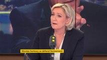 """""""Le statut des cheminots n'est pas la raison de la dette de la SNCF"""", dénonce Marine Le Pen"""