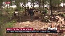 TRT Haber terör örgütü YPG/PKK'nın eğitim gördüğü kampa girdi