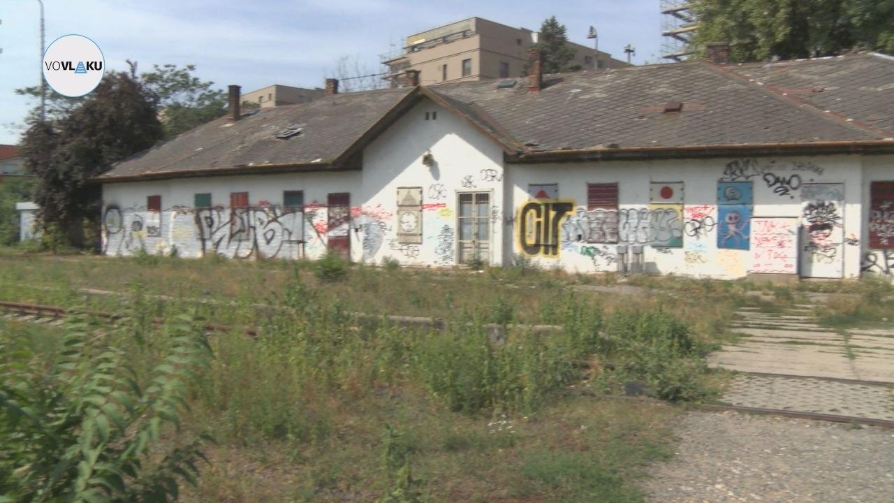 UNIKÁTNY VLAKOVÝ VIDEOPROJEKT: Železničná stanica Bratislava Filiálka