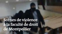 Des étudiants grévistes agressés par des hommes encagoulés, à la faculté de droit de Montpellier