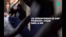 Des étudiants occupant la fac de droit à Montpellier violemment expulsés et frappés par des hommes cagoulés