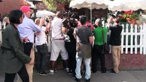 Kim Kardashian Swarmed By Cameras After Beyonce Turns Down Bridemaid Offer [2014]