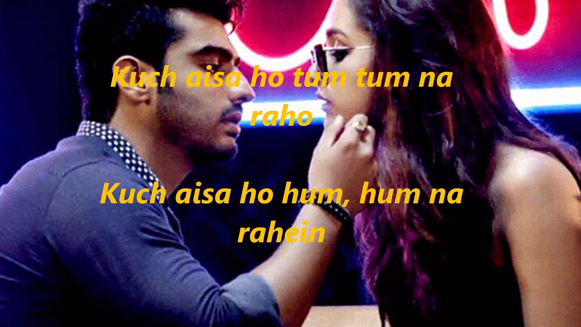 Phir Bhi Tumko Chaahunga | Half Girlfriend | Arjun K & Shraddha (lyrics)