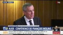 """Attaques dans l'Aude: une personne """"placée en garde à vue"""", annonce le procureur de Paris"""