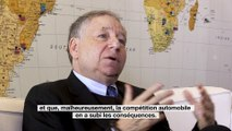 Jean Todt, le président de la Fédération internationale automobile (FIA)