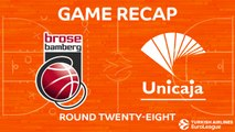 Highlights: Brose Bamberg - Unicaja Malaga