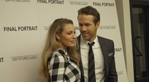 Ryan Reynolds and Blake Lively Attend Stanley Tucci's Final Portrait Movie Screening in NYC