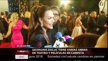 Georgina Duluc tienes varias obras de teatro y películas en carpeta.
