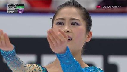 B.ESP. 宮原知子 Satoko Miyahara FS - 2018 World Championships 2018
