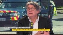 """Mort du gendarme Arnaud Beltrame : """"Je suis éberlué par tant d'héroïsme. C'est ce qui fait notre force par rapport à des idéologies de la mort"""", réagit Eric Coquerel, député La France insoumise de Seine-Saint-Denis #8h30politique"""