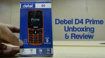 Detel D4 Prime Unboxing and Review - GIZBOT HINDI