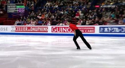 B.ESP. 友野一希 Kazuki TOMONO FS - 2018 World Championships