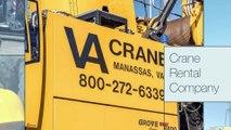 Crane Rentals Near Me, Crane Rental Company - VA Crane