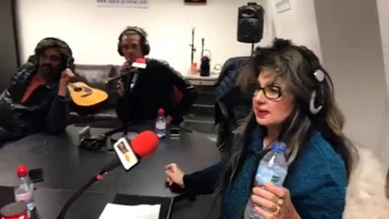 Yianna Katsoulos Les Autres Sont Jaloux Live AIR SHOW
