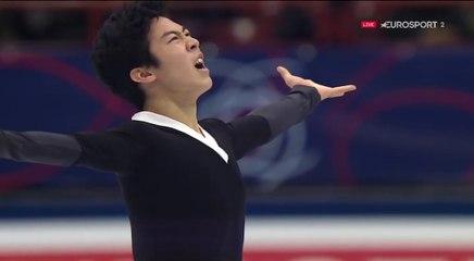 B.ESP. Nathan CHEN FS - 2018 World Championships