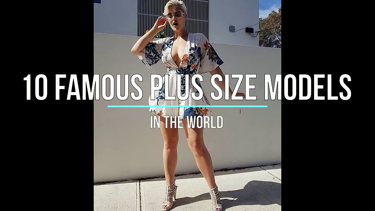 10 Plus Size Model Swimwear - Plus Size Model Hot Photoshoot Video - Large Size Women Fashion. http://bit.ly/2Xc4EMY