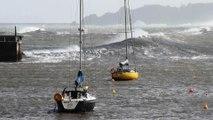 Temporal del Cantábrico en Asturias! AVISO ROJO de la AEMET por fenómenos costeros