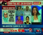 ISIS crackdown: Yasmin convicted for recruiting 15 Indians for ISIS — Nation at 9